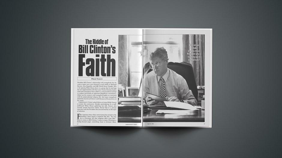 The Riddle of Bill Clinton's Faith