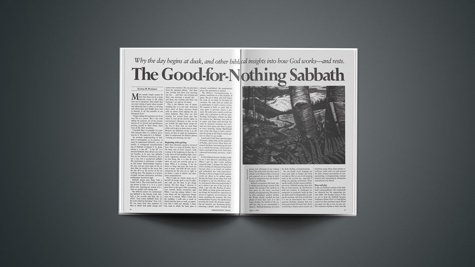The Good-for-Nothing Sabbath