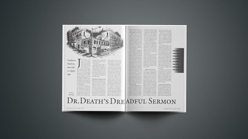 Dr. Death's Dreadful Sermon