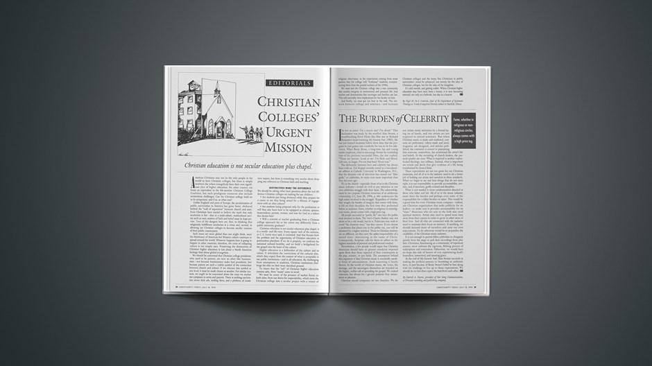 Christian Colleges' Urgent Mission
