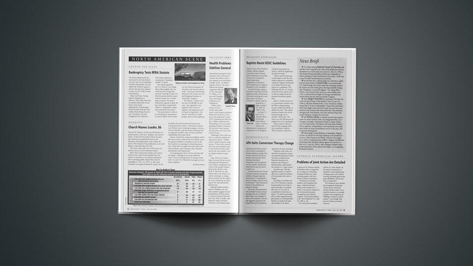 News Briefs: July 18, 1994