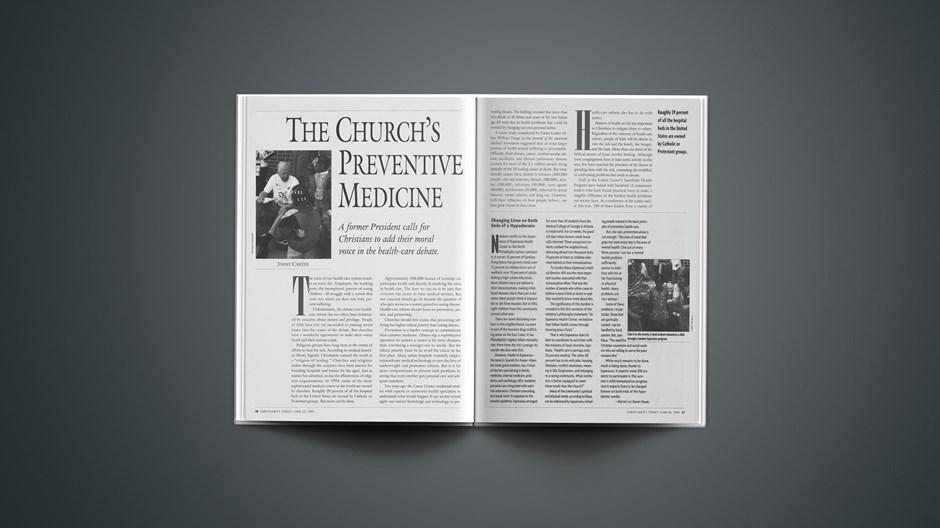 The Church's Preventive Medicine