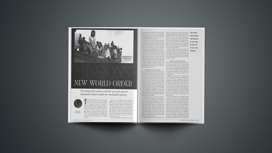 Missions' New World Order