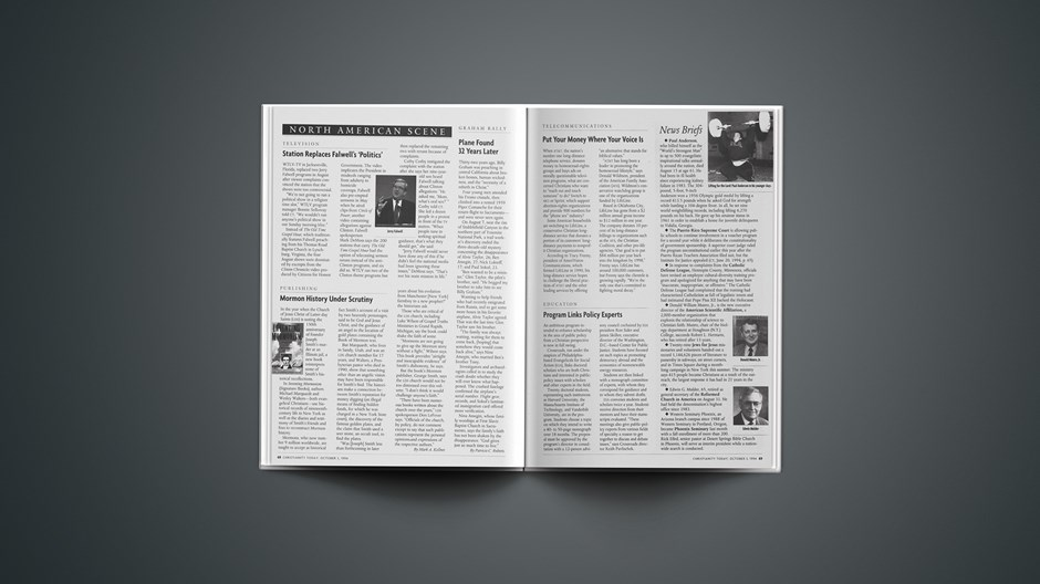 News Briefs: October 03, 1994