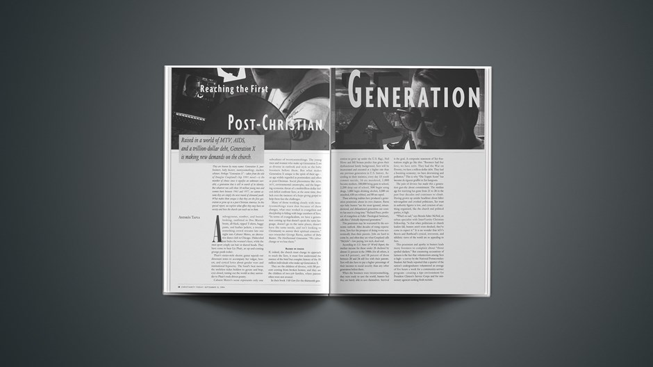 Reaching the First Post-Christian Generation