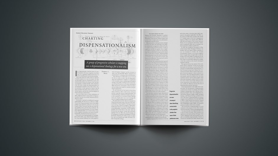 ARTICLE: Charting Dispensationalism