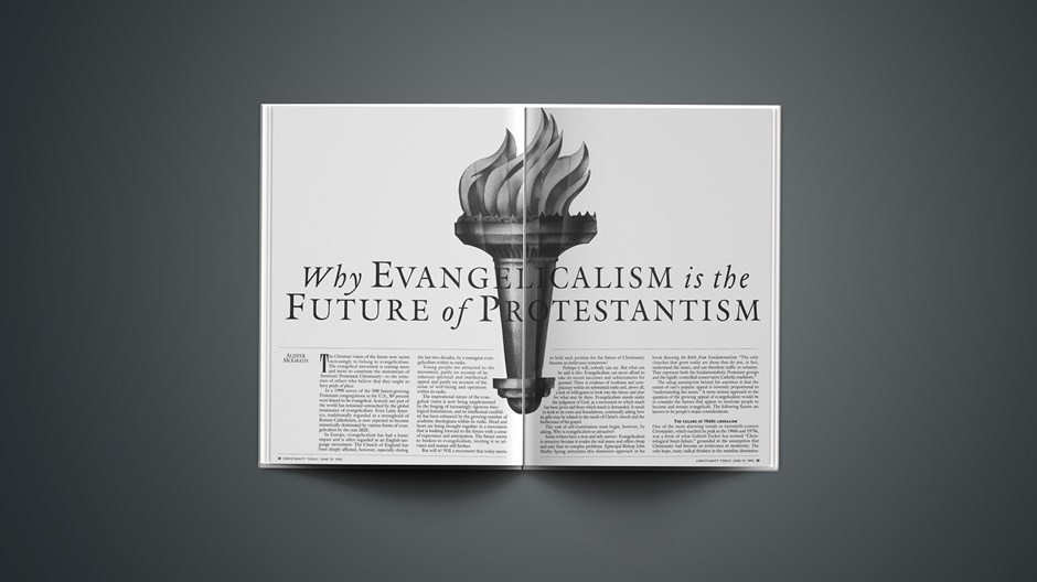 ARTICLE: Why Evangelicalism Is the Future of Protestantism, Part 1