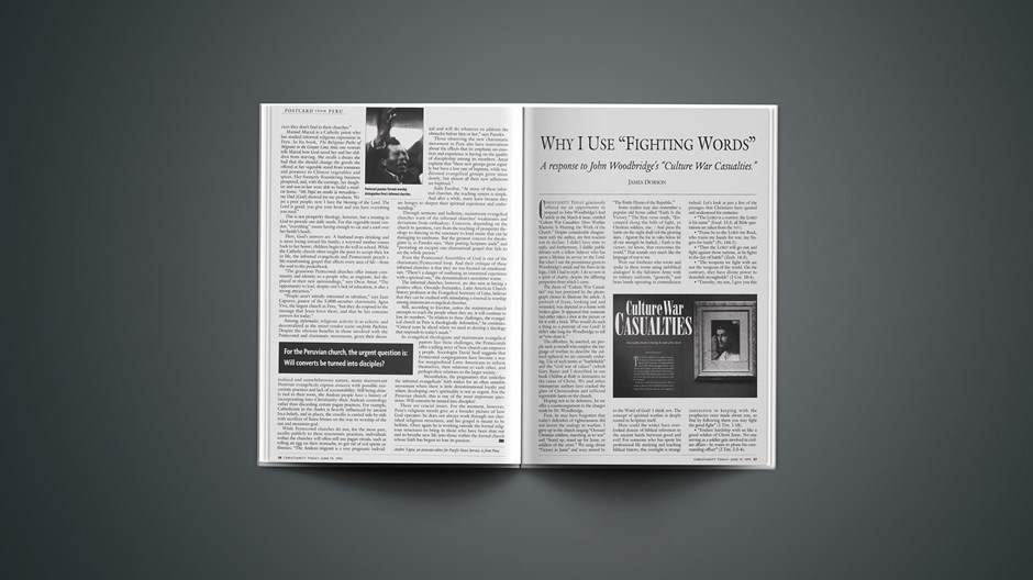 ARTICLE: Why I Use Fighting Words