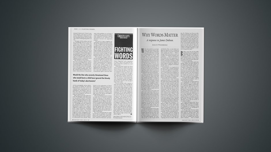 ARTICLE: Why Words Matter