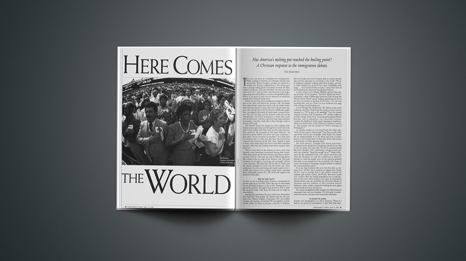 ARTICLE: Here Comes the World, Part 1