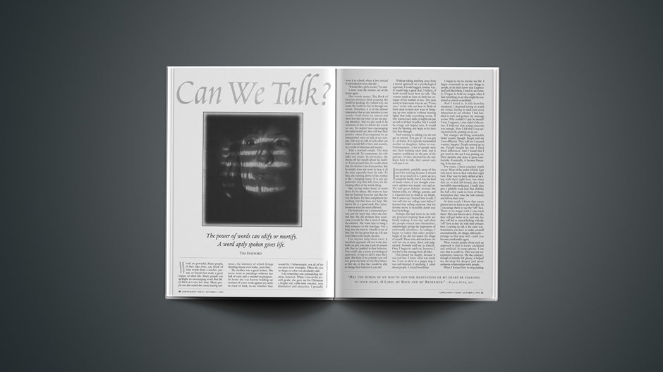 ARTICLE: Can We Talk?