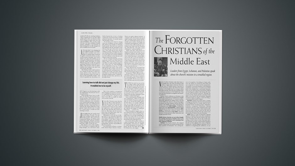 ARTICLE: The Forgotten Christians of the Middle East