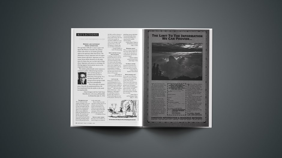 Classic & Contemporary Excerpts from October 02, 1995
