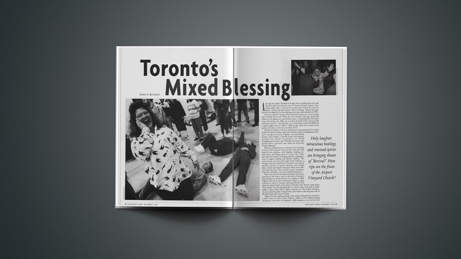 ARTICLE: Toronto's Mixed Blessing