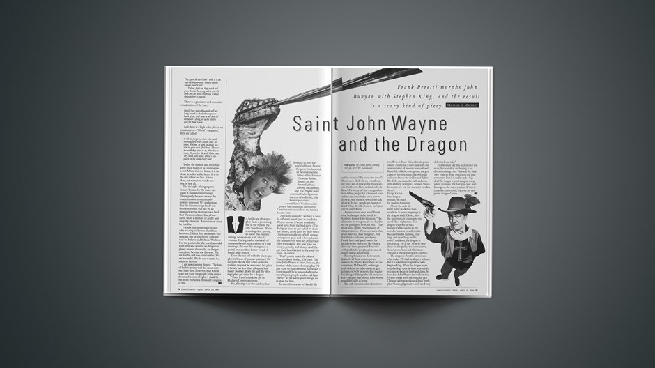 ARTICLE: Saint John Wayne and the Dragon
