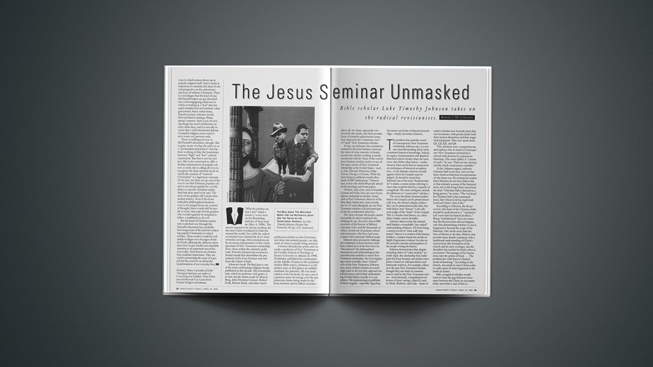 ARTICLE: The Jesus Seminar Unmasked