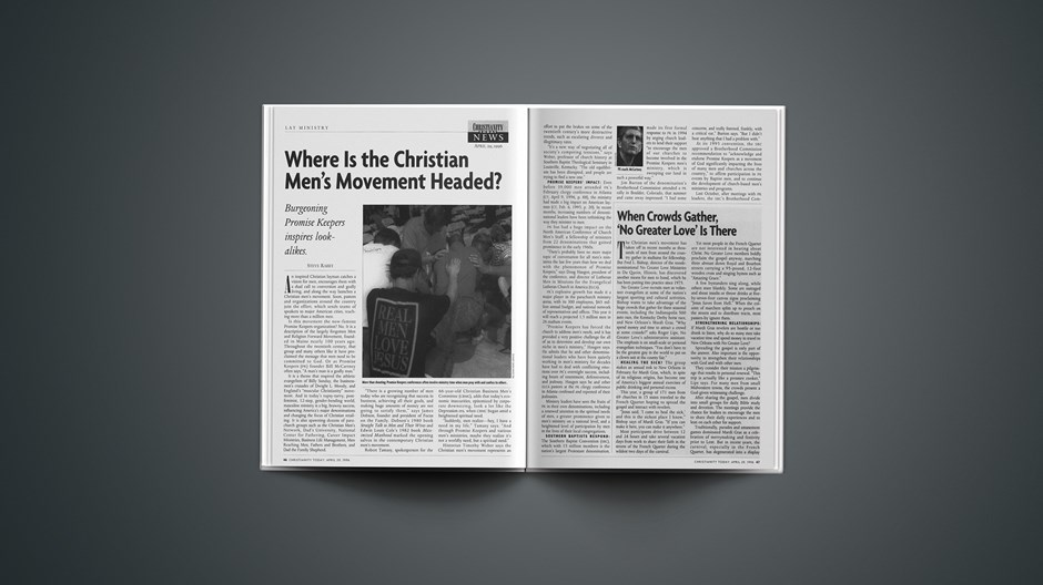 Where Is the Christian Men's Movement Headed?