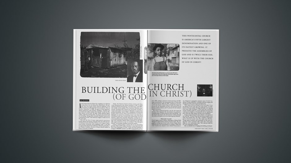 ARTICLE: Building the Church (of God in Christ), Part 1
