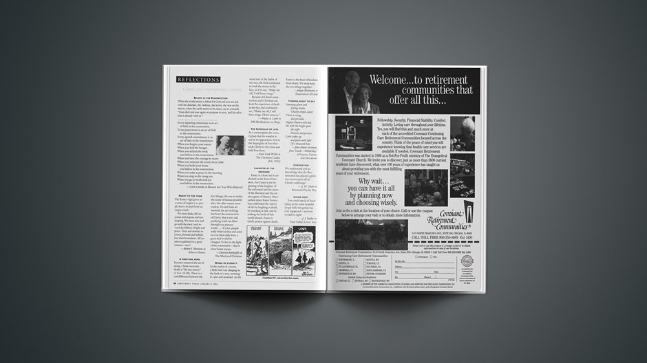 Classic & Contemporary Excerpts from April 08, 1996