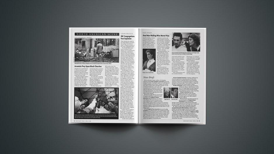 News Briefs: April 08, 1996