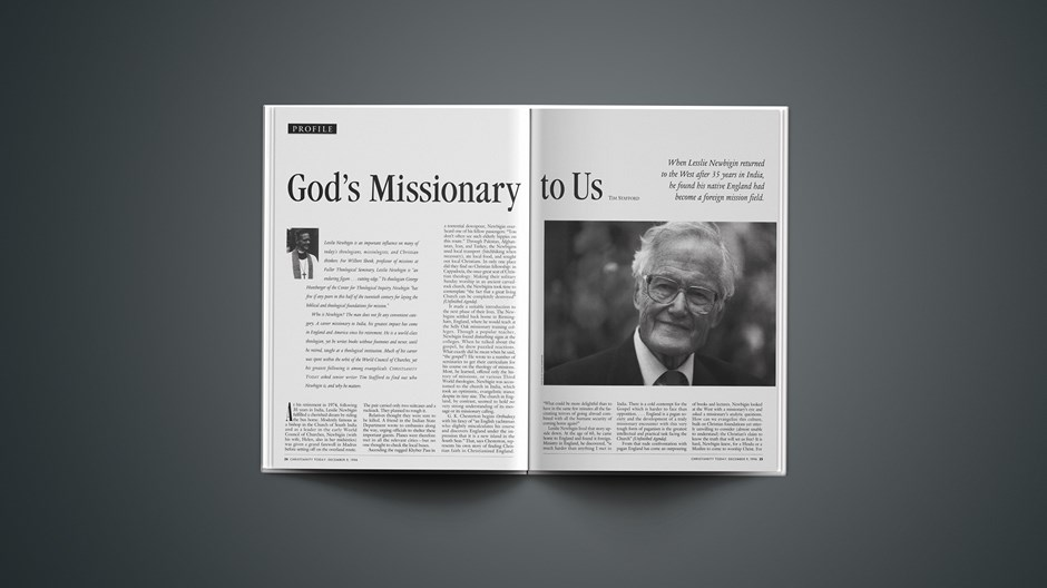 God's Missionary to Us, Part 1