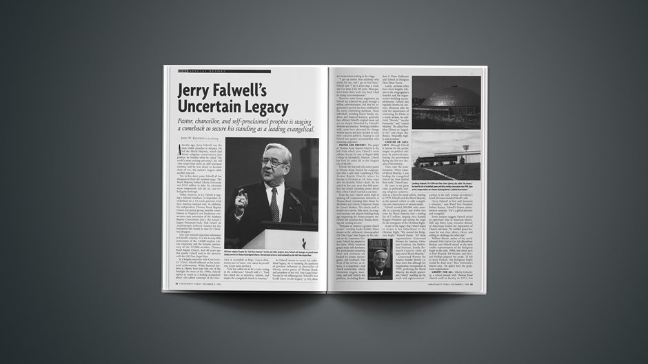 Jerry Falwell's Uncertain Legacy