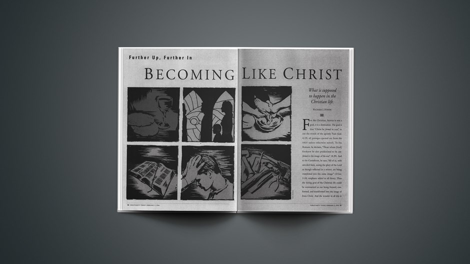 ARTICLE: Becoming Like Christ