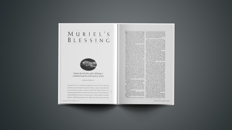 ARTICLE: Muriel's Blessing