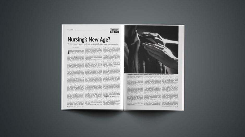 Nursing's New Age?