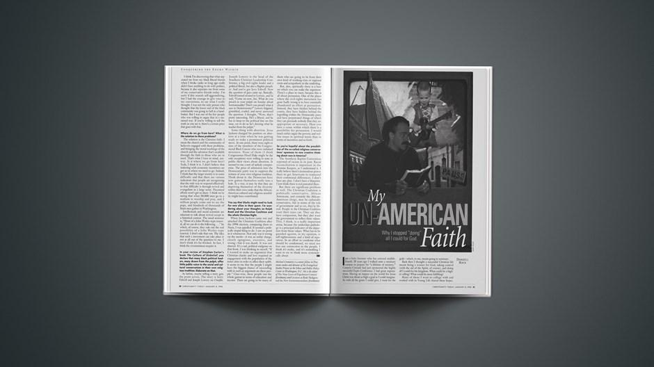 ARTICLE: Un-American Faith