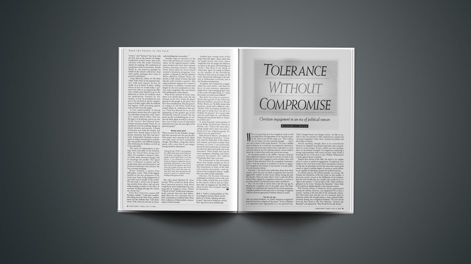 ARTICLE: Tolerance Without Compromise