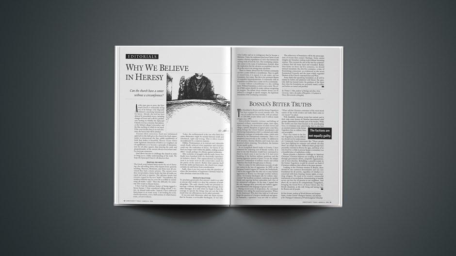 EDITORIAL: Bosnia's Bitter Truths