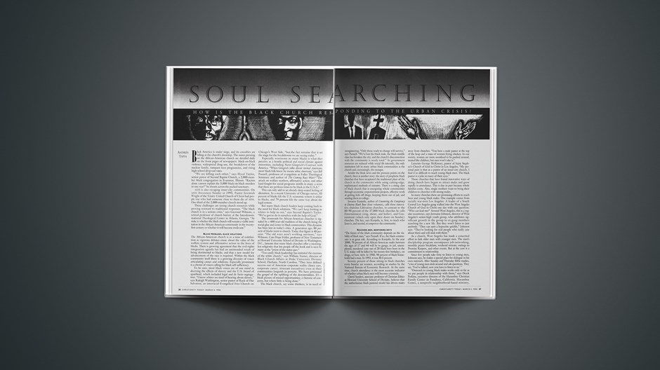 ARTICLE: Soul Searching