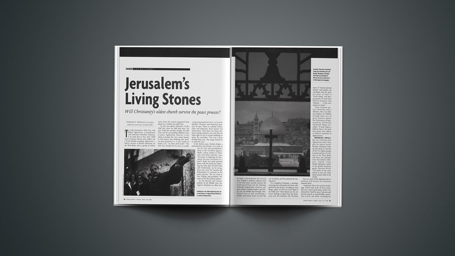 Jerusalem's Living Stones