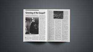 Greening of the Gospel?
