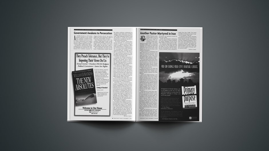 Martyrdom: Another Iranian Pastor Killed