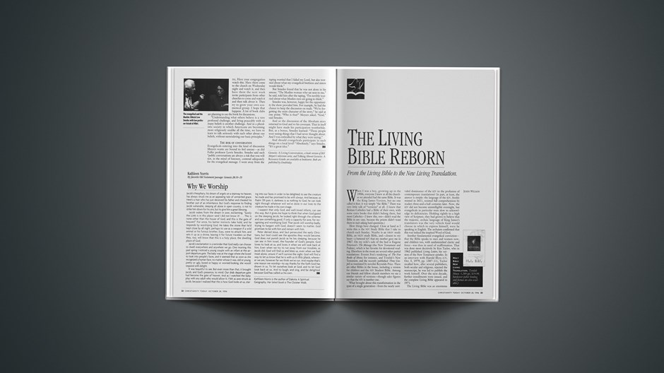The Living Bible Reborn: Tyndale's 50th Anniversary