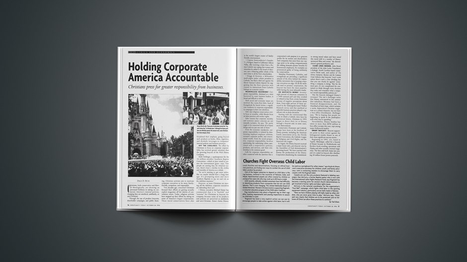 Ethics and Business:Holding Corporate America Accountable