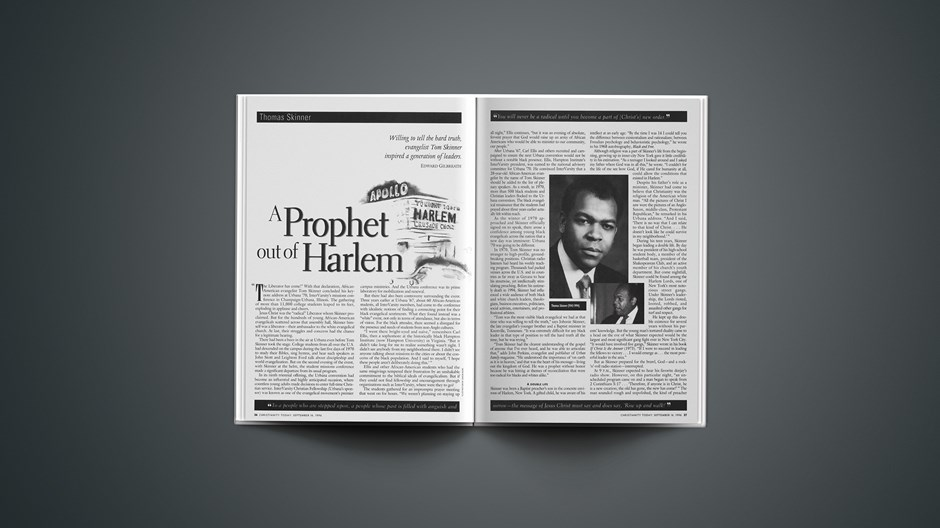A Prophet Out of Harlem