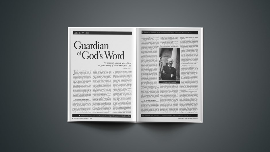 Guardian of God's Word
