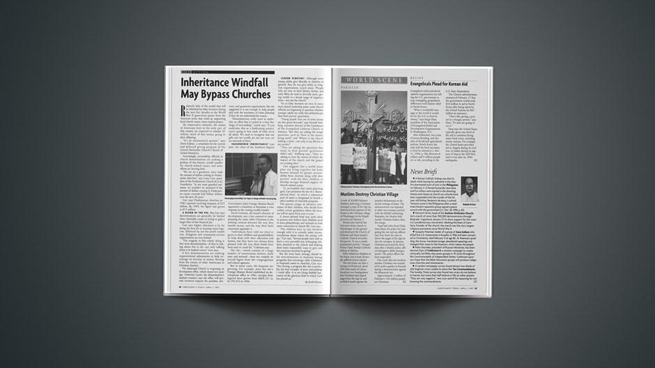 News Briefs: April 07, 1997