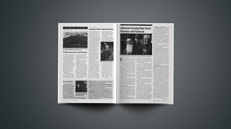 News Briefs: December 08, 1997