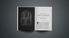 CT Classic: Why I'm Not Orthodox