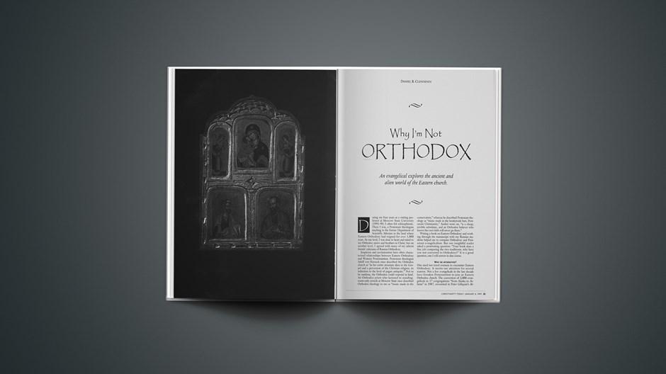Why I'm Not Orthodox