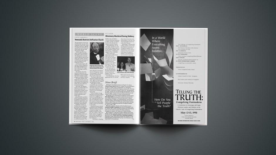 News Briefs: November 17, 1997