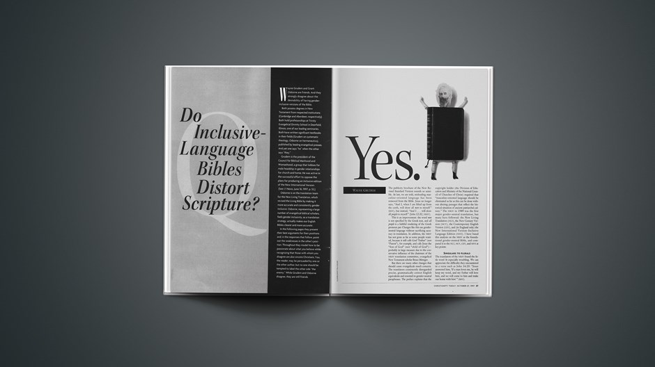 Do Inclusive-Language Bibles Distort Scripture? (Part 1 of 4)