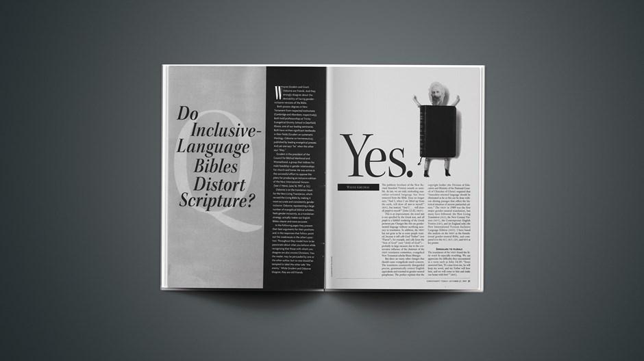 Do Inclusive-Language Bibles Distort Scripture? (Part 2 of 4)