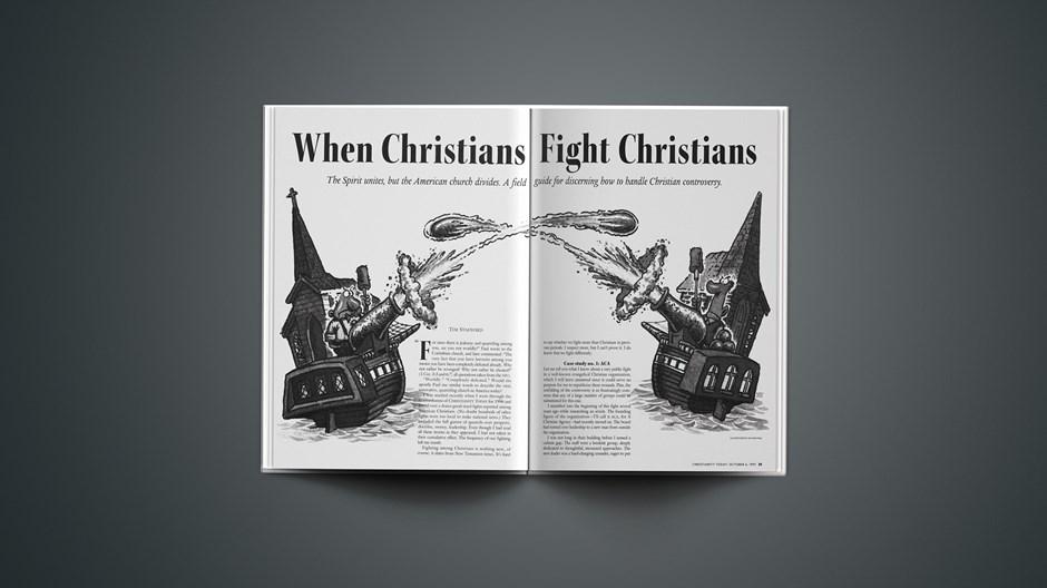 When Christians Fight Christians