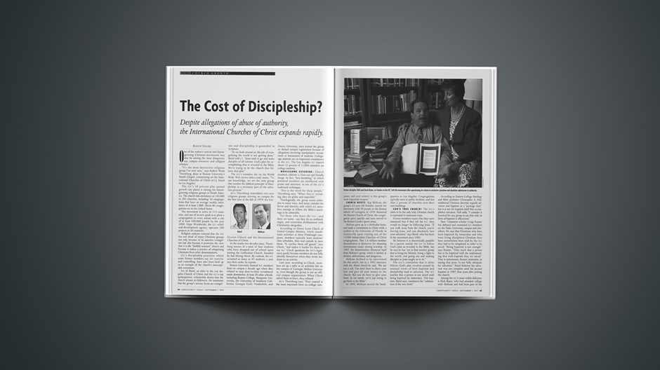 The Cost of Discipleship?