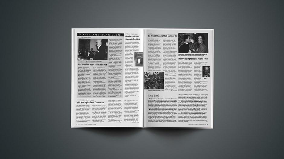 News Briefs: February 09, 1998